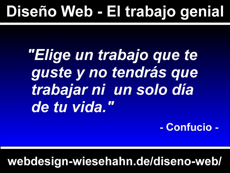 Infografik Diseño Web - El trabajo genial